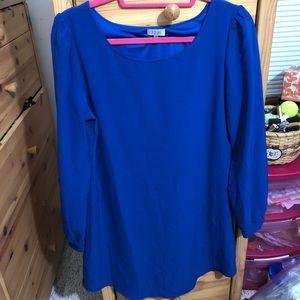 Brand new tobi blue long sleeve dress